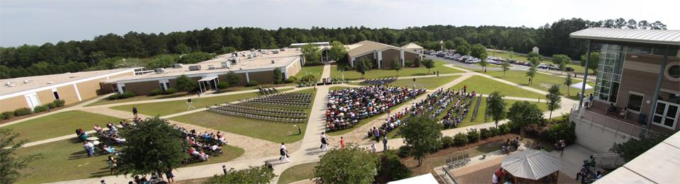 Panoramic view of Graduation