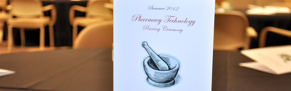 Pharmacy Pinning Ceremony Program