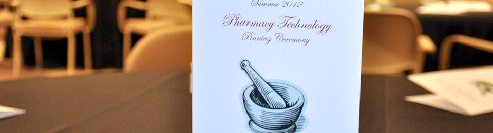 Pharmacy Pinning Ceremony Program