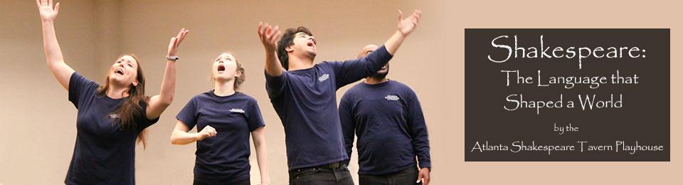 Atlanta Shakespeare Tavern Playhouse actors