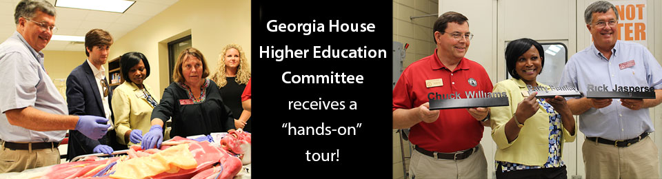 Education Committee gets hands-on tour