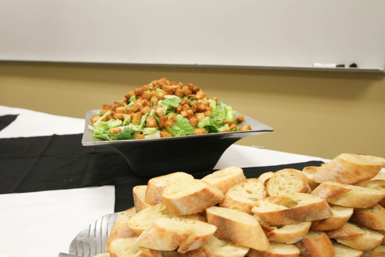 Lunch catered by our Culinary Students